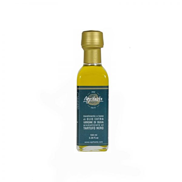 Condimento al tartufo nero in olio extravergine